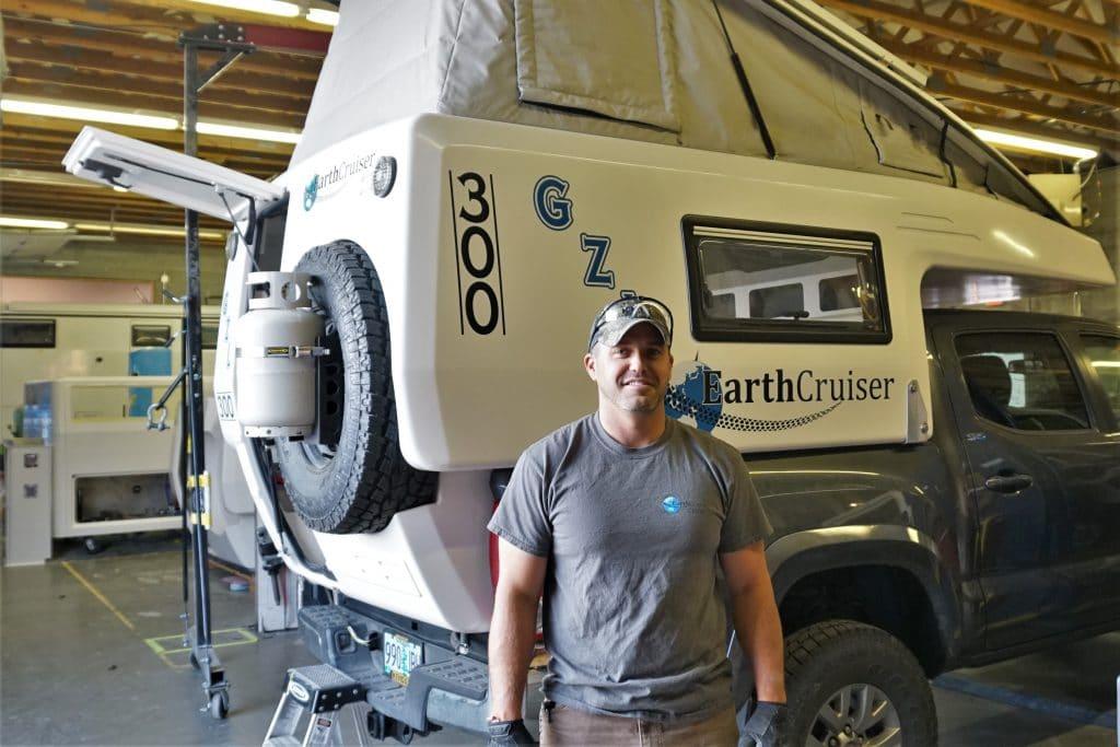 EarthCruiser Crew Member Brad