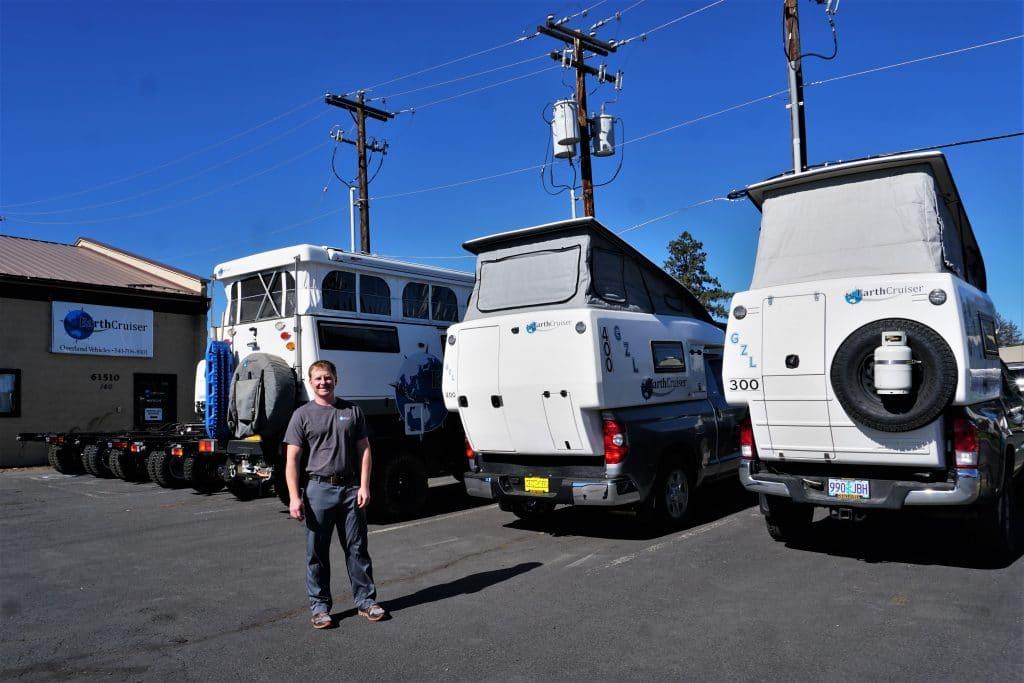 EarthCruiser Crew Member Brent Baker