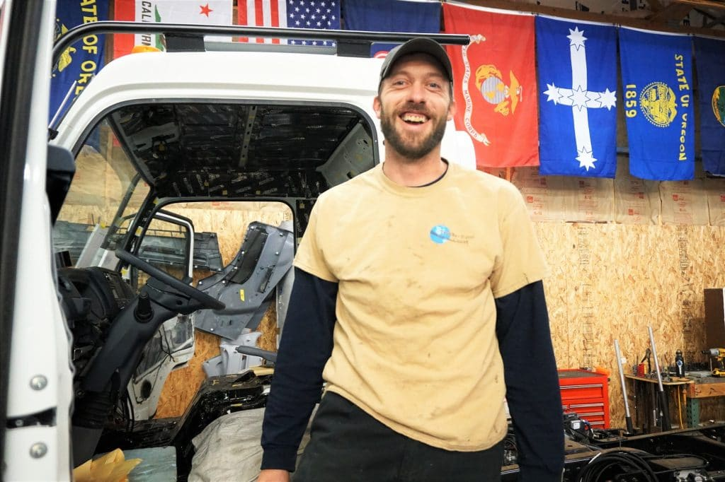 EarthCruiser Crew Member Tim